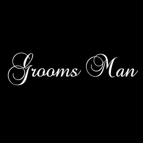 Best man / Grooms man thank you wedding gift - personalised wooden bottle box