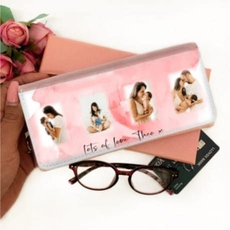 Personalised Pink Purse - 4 Photos