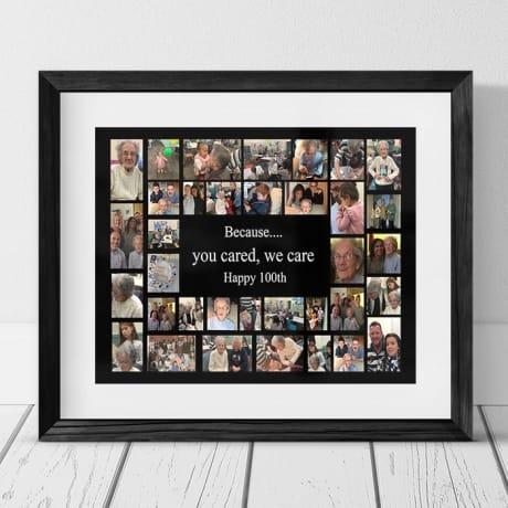 35 Photo Collage -100th Birthday