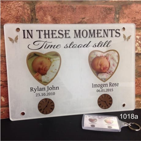 1018a- Moments in time Acrylic plaque