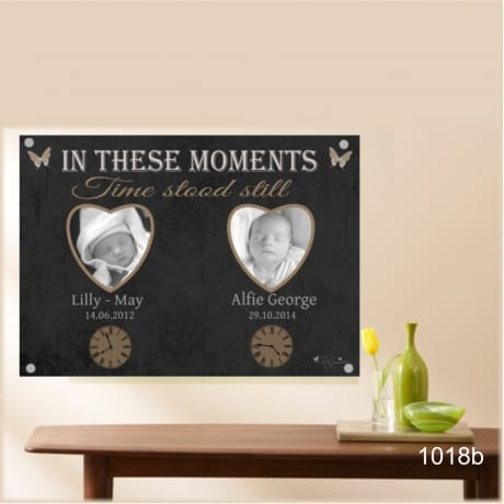 1018b- Moments in time Acrylic plaque