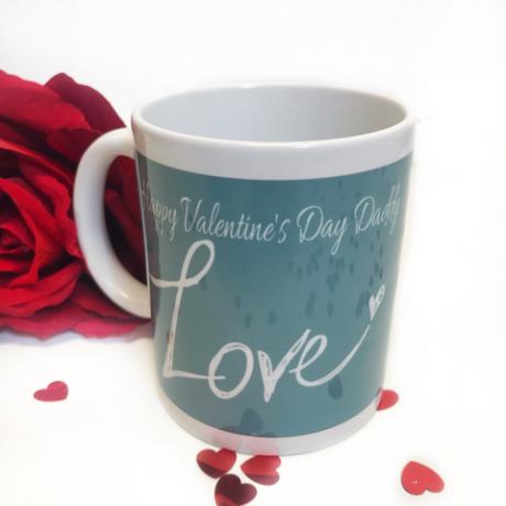 Personalised Valentine's Mug - Daddy