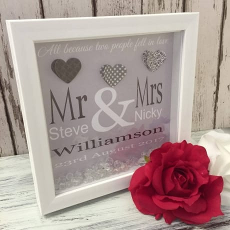 Handcrafted - Wedding Hearts