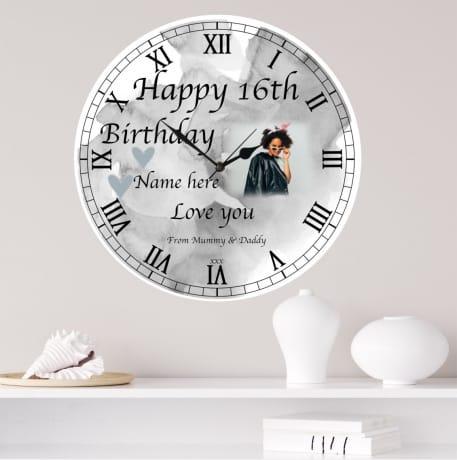 Happy Birthday Clock