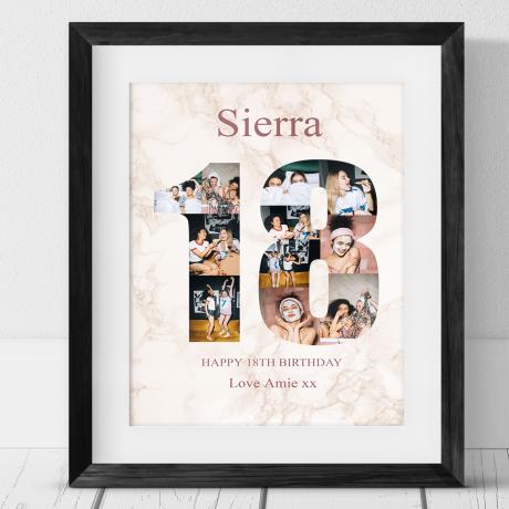 18 Birthday Photo Collage