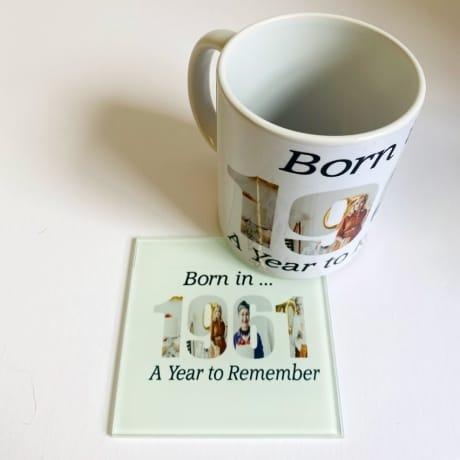 1961 Personalised Mug