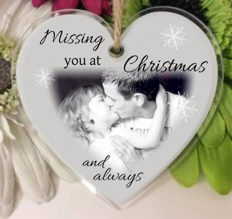 Heart - Missing you at Christmas