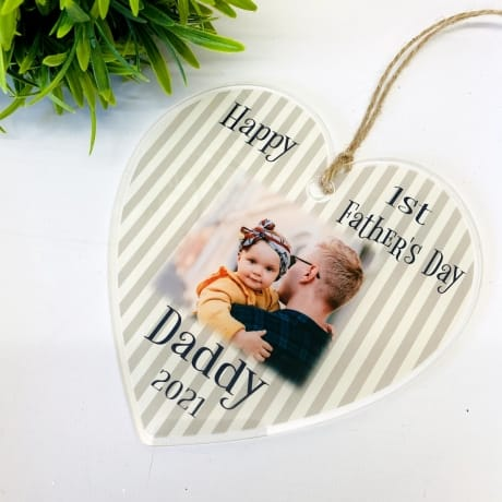1st Father's day Heart