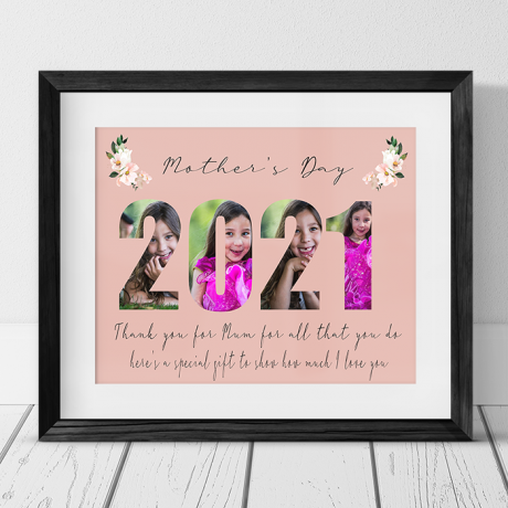 2021 Mother's Day for Mum Photo Collage