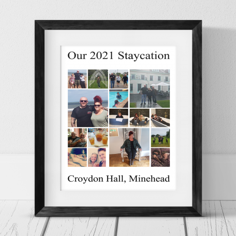 16 Photo Collage - Staycation