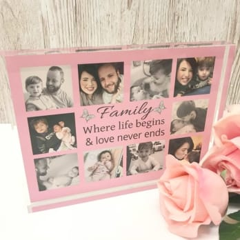 Personalised Photo Collage - Family