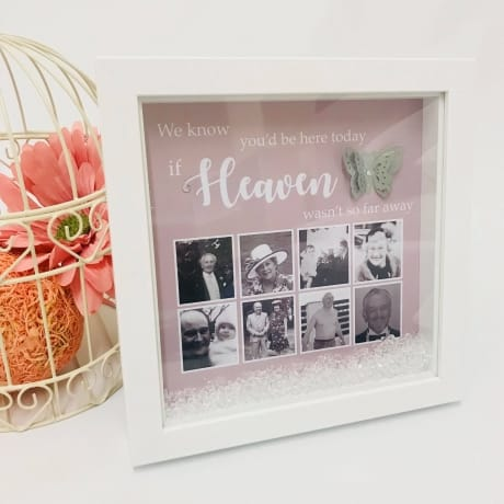 Personalised photo wedding remembrance