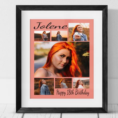 7 Photo Collage - Birthday