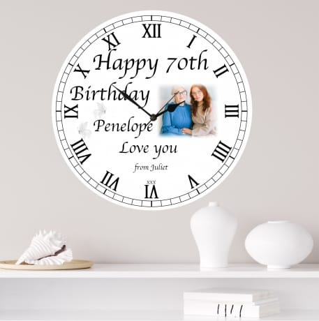 Happy Birthday Clock