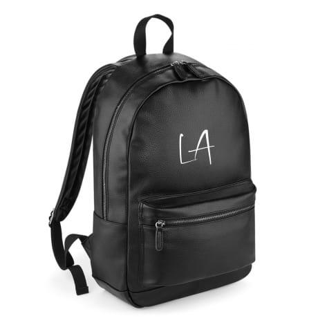 Personalised Luxury Leather Backpack