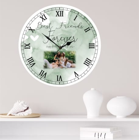 Personalised Birthday Clock - Best friends forever