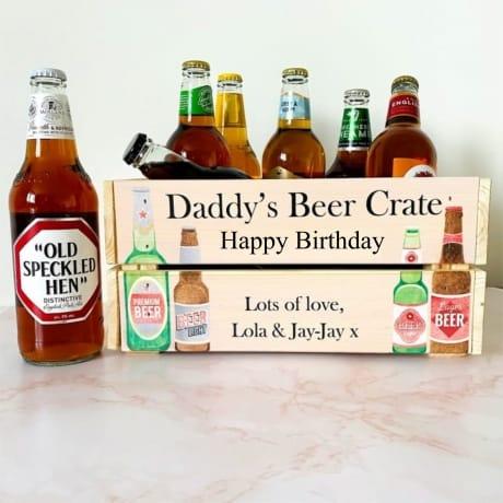 Personalised Beer Crate