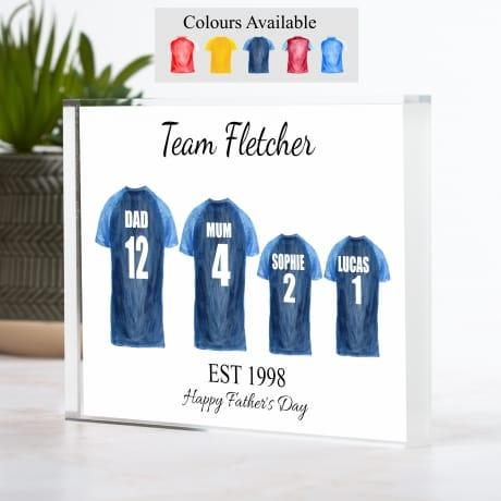Football Shirt - 4 Team Family
