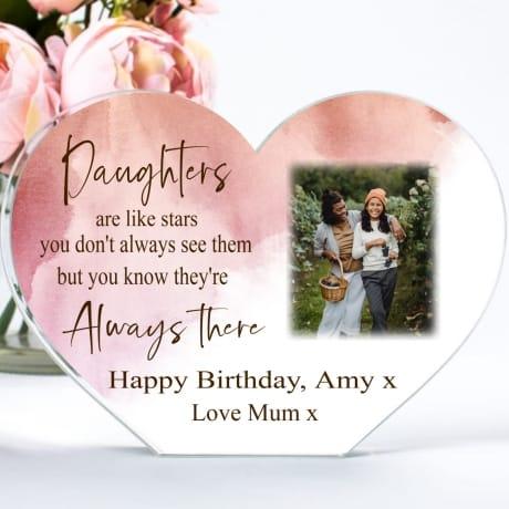 Birthday Daughter  ...like stars heart block