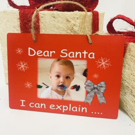 Christmas sign - I can explain