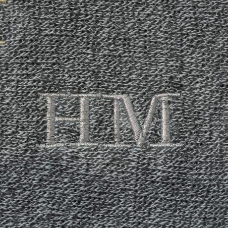 Personalised Luxury Mens Grey Scarf