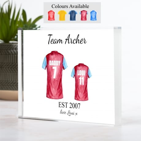 Football Shirt - 2 Team Family