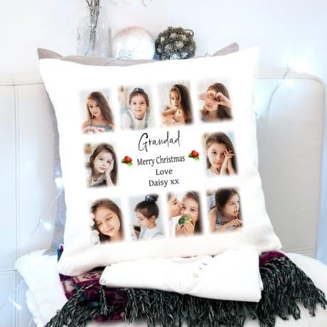 Merry Christmas Cushion Grandad