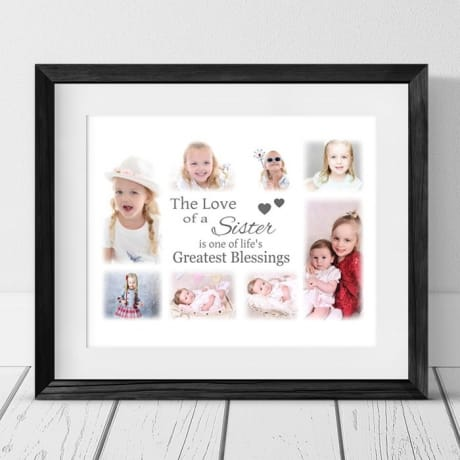 Personalised Keepsake -  Collage Photo Frame