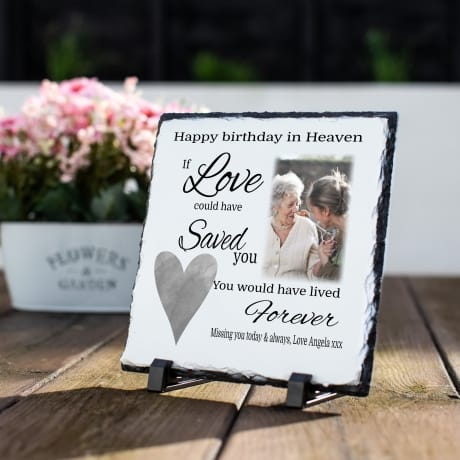 Heavenly Birthday Slate: If Love Could Have Saved You
