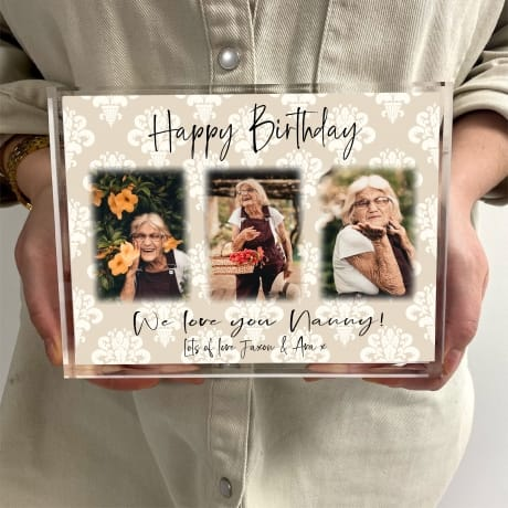 Birthday Photo Block Collage