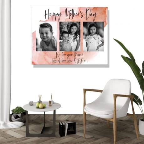 Mother's Day Mum Photo Canvas Collage
