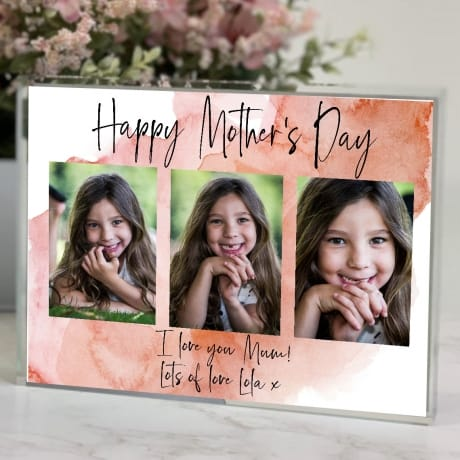 Mother's Day Mum Photo Block Collage