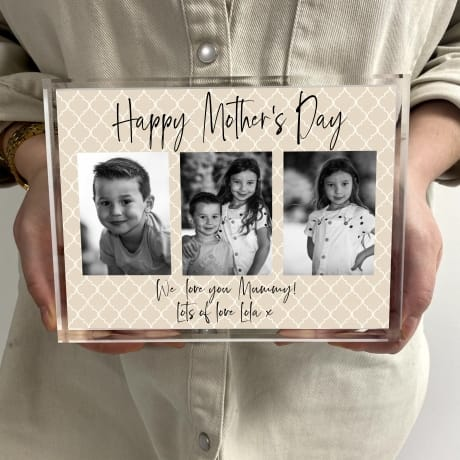 Mother's Day Mummy Photo Block Collage