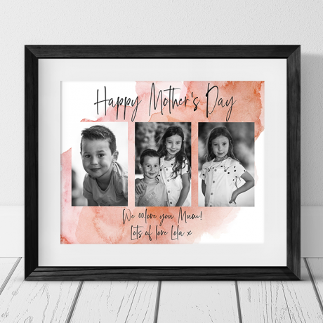 Mother's Day Mum Photo Collage
