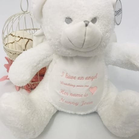 Angel Teddy - I Have An Angel Watching Over Me