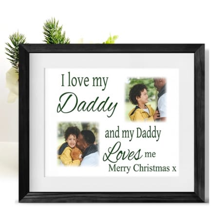 Love : Christmas Frame Dad