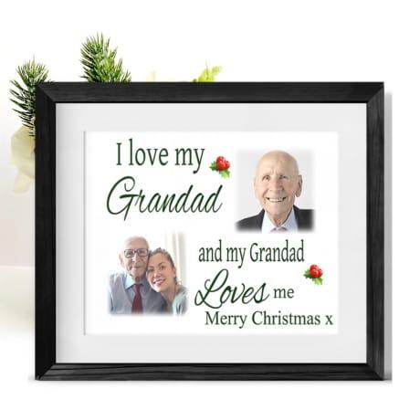 Love : Christmas Frame Grandad