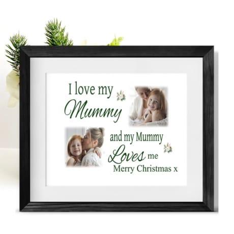 Love : Christmas Frame Mum