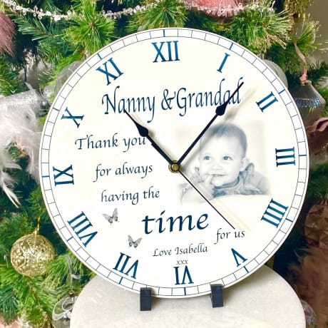 Personalised clock - Thank you for...
