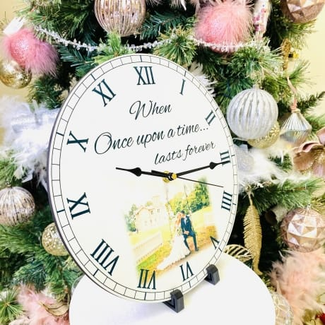 Personalised Clock - Once upon a time