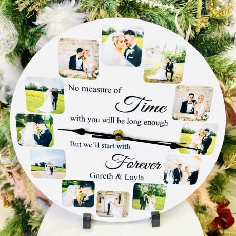 Personalised clock No measure of time