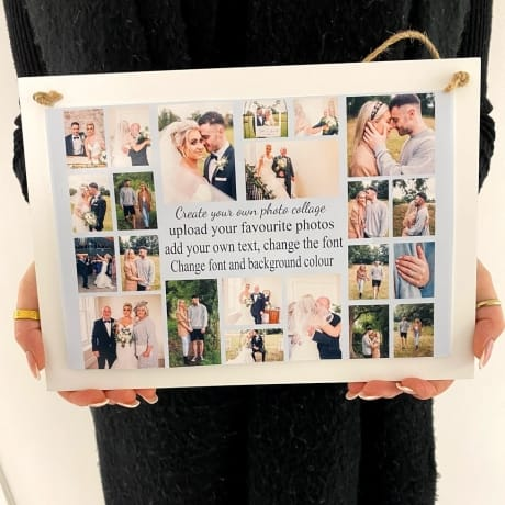 Create Your Own Personalised Deluxe Wall Sign Keepsake