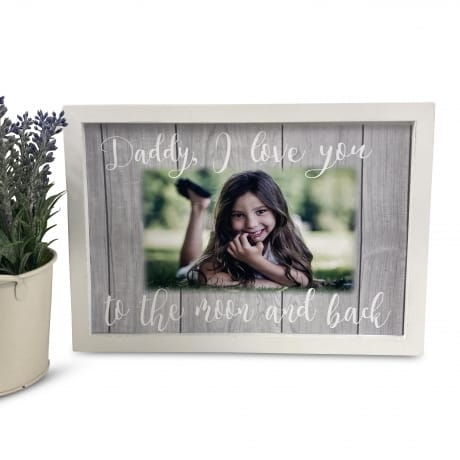 Personalised Deluxe Wall Frame Love Keepsake