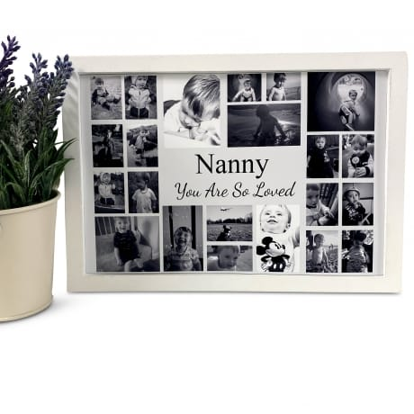 Personalised Deluxe Wall Frame So Loved Keepsake