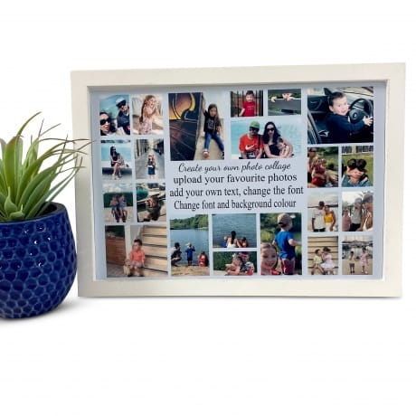 Create Your Own Personalised Deluxe Wall Frame