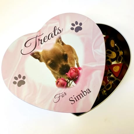 Personalised Pets Treat Tin