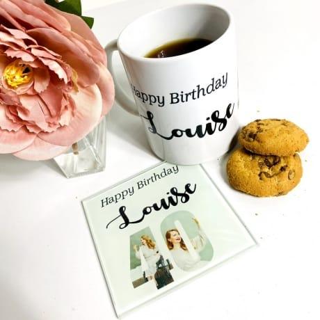 Happy 40 Birthday Mug