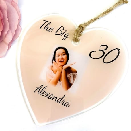 The big 30 Birthday Heart