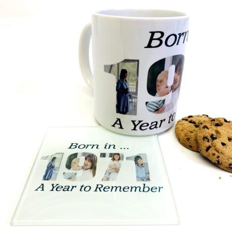 1971 Personalised Mug