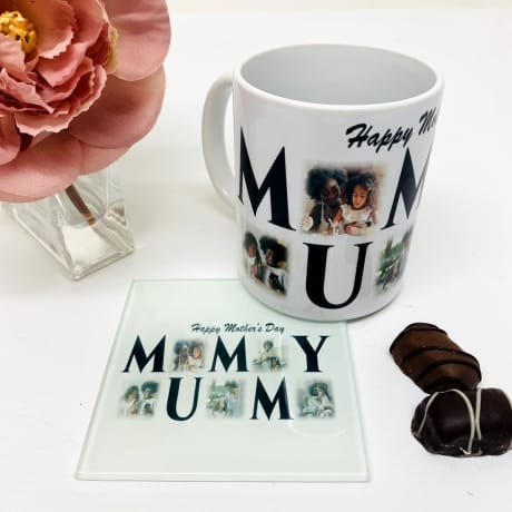 Mummy 5 Photo Mug Mother's Day